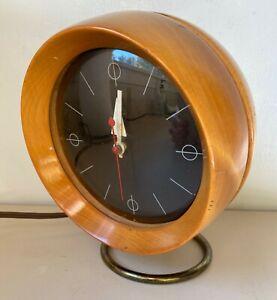 1950 MID-CENTURY GEORGE NELSON HOWARD MILLER  MODEL 4765 CHRONOPAK ORB CLOCK