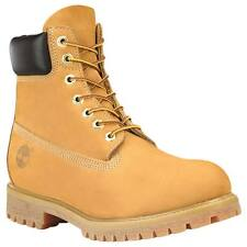 "Timberland C10061-9 Gent's Wheat Nubuck Leather Boots, 6""H, 9 Size"
