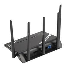 300M Wireless Long Range WiFi Gigabit Router w/High Power 5 Antennas 802.11