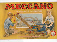 Notices Meccano de 1953 : 1-1A-3A-4A