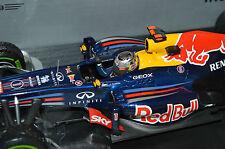 Sebastian Vettel 1 18 Red Bull RB8 campeón mundial de Brasil 1:18 Minichamps Nuevo Y En Caja