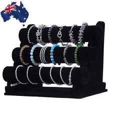 Jewellery Holder Stand Black Rack Jewelry Bracelet Necklace Display WDIS00503
