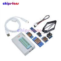 TL866II Plus Programmer w/ 7 Adapters Socket Extractor R/TL866 EPROM FLASH BIOS