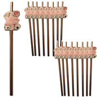 BULK TEAM BRIDE PAPER STRAWS HEN PARTY NIGHT DO TRIBE SQUAD ROSE GOLD FLORAL