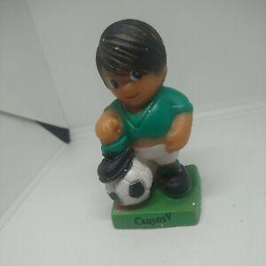 "Vtg RARE SOCCER WORLD CUP MEXICO 70 JUANITO VINYL 3.5"" CARLOS V"