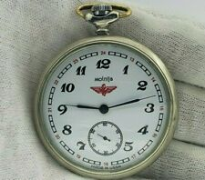 SOVIET Vintage Pocket Watch USSR MOLNIJA Tale of Urals  cal.3602 18 Jewels