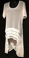 plus sz XS/ 14  TS TAKING SHAPE Christa  Top Tunic Sheer  Cover Up  NWT!rrp $100