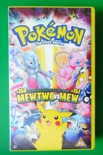 POKEMON THE FIRST MOVIE VIDEO VHS MEWTWO VS MEW 2000 93 MINS
