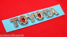 TOYOTA CAMRY BOOT BADGE TOYOTA MCV36 FROM AUG 02> NEW GENUINE 75447-YC010