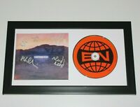 ARCADE FIRE BAND SIGNED 'EVERYTHING NOW' CD COVER w/COA WIN BUTLER RED FRAMED