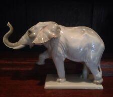 Rare Rosenthal Porcelain Germany Elephant Figurine #584 Münch-Khe