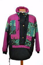 vintage retro ETIREL SKI JACKET size womens 42 L neon 80s 90s part suit stag hen