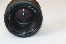 Nikon  50mm f/1.8D Auto Focus Nikkor Lens  Prime Lens  STREET LENS   #17.