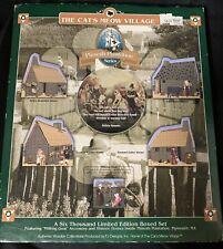 The Cat's Meow Village Plimoth Plantation Series- Limited Edition Box Set- 1998