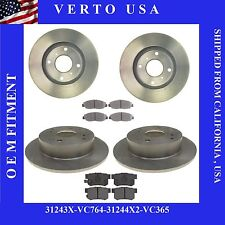 Complete Front & Rear Brake Kit For Acura CL 1998-1999 ,Honda Accord 4C 98-02