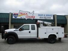 2013 Ford F-450 Ext. Cab 4X4 Mechanics Truck - Crane & Compressor