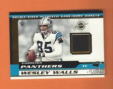 2001 PACIFIC VANGUARD WESLEY WALLS FRANK WYCHECK GAME-USED JERSEYS #13