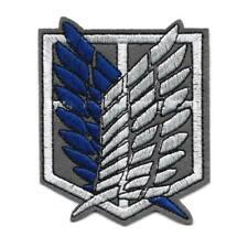 """ATTACK ON TITAN IRON ON PATCH 3.5"""" Scout Regiment Survey Corps Embroidered"""