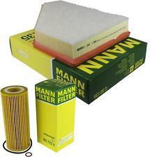 MANN-FILTER Set Air Filter Oil Filter For BMW 3er E90 320d E91