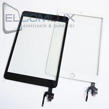 "Display Glas Scheibe Touch Screen Panel Pad IC Chip für iPad Mini 3 ""Weiß"""