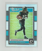 DEDE WESTBROOK (Jacksonville) 2017 DONRUSS OPTIC THE ROOKIES PRIZM CARD #30