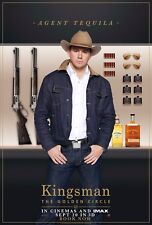 Kingsman The Golden Circle Movie Poster (24x36) - Channing Tatum, Tequila v14