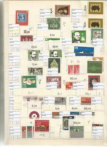 LUXUS Bund ER-Bestand auf 40 Seiten eng gesteckt **/O ab 50er bis 90er- 393-279