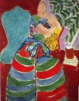 Henri Matisse - Red Dress Superb painting Art A0,A1,A2,A3,A4 poster