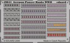 Eduard 1/48 GERMAN PANZER rangs WWII pré-peint en couleur! # 49