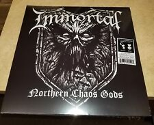 Immortal Northern Chaos Gods White Black Splatter 500 Only Black  METAL colored
