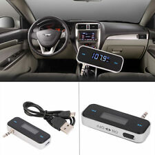 Best Mini Car FM Transmitter Kit Music FM With USB Cable for Mobile Phones TOP X
