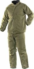 "NEW USGI NBC Hazmat Chemical SUIT Military OD Green 27-34"" waist  (XS)"