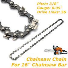 "16"" Chainsaw Saw Chain Blade Crafts man Pitch 3/8""LP 0.050 Gauge 56DL Drive Link"