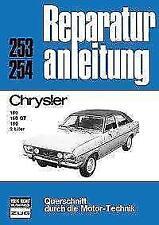 Chrysler 160/160 GT/180 2 Liter (2017, Taschenbuch)