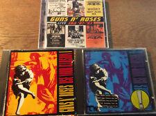 Guns N 'ROSES [3 CD ALBUM] use your illusione I + II + Live Era' 87 -'93