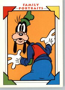 1991 Impel Disney Family Portraits Goofy Bios #102