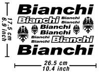 Bianchi Decals Stickers Bicycle Vinyl Graphic Autocollant Aufkleber Adesivi /585