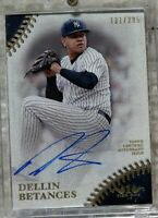 2018 Topps Tier One Dellin Betances AUTO 131/285 Yankees