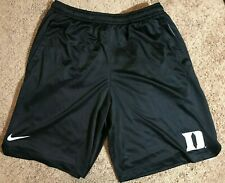 Duke Blue Devils authentic Nike practice shorts black, size Medium NEW!