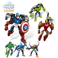 The Clown Alliance Iron Man Captain American Batman Hulk Assemble Toys Figure
