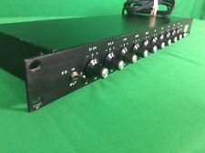 ASR Systems Stereo Octave Band Equalizer With Power Supply (R)