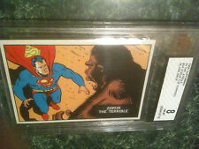 1966 Topps Superman In The Jungle #34 Test Issue Proof Blank Back BVG BGS 8 1/1