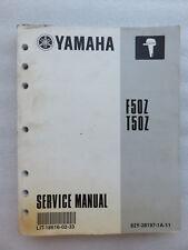 yamaha t50x outboard motor service manual