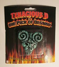 TENACIOUS D IN THE PICK OF DESTINY MOVIE REPLICA STEVE CLAYTON GUITAR PICK  GAR