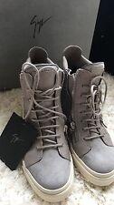 Giuseppe Zanotti grey suede/leather trainer Size 38