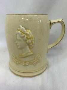 Rare Musical Elizabeth II Coronation Mug