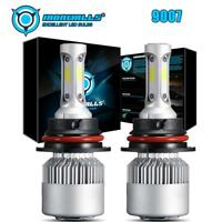 COB 9007 HB5 LED Headlights Low / High Dual Beam Bulbs Kit 1500W 225000LM 6000K