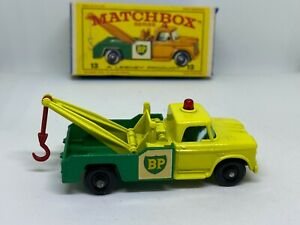 Moko Lesney Matchbox 13d Dodge Wreck Truck - Vintage