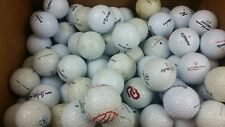 Golf Balls Used lot of 100 Nike Nitro Pinacle Titleist Random Reclaimed Assorted