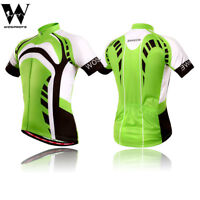 Men's Cycling Jersey Bike Short Sleeve Team Wear Shirt Full Zipper Riding Tops
